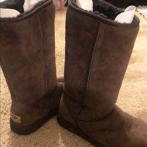 Chocolate Brown Tall Ugg Boots